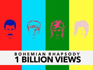 Rapsodia Bohemia» de Queen alcanzó un récord histórico en YouTube