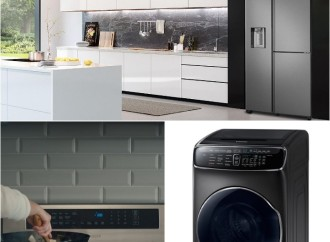 Samsung presenta tres líneas de electrodomésticos que serán el centro del hogar moderno