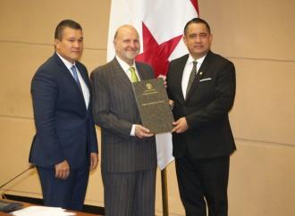 Pleno de la Asamblea ratifica a Giovanni Ferrari como gerente de la Zona Libre de Colón