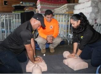 Inspectores del SNM reciben capacitación en gestión de riesgos y primeros auxilios