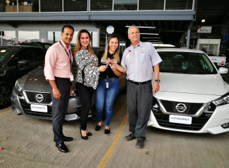 Nissan Panamá entregó la primera flota del nuevo Nissan Versa 2020