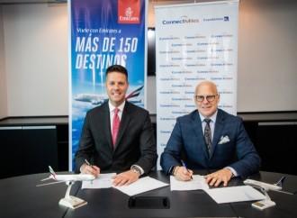 Copa Airlines y Emirates Fortalecen alianza con nuevo acuerdo de programas de viajero frecuente