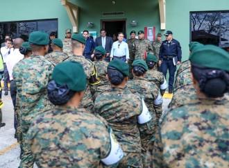 Presidente Cortizo Cohen se reúne con jefes de la Fuerza Pública