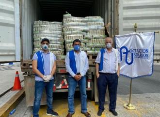 Empresarios de Zona Libre entregan50 mil libras de arroz para provincia de Colón