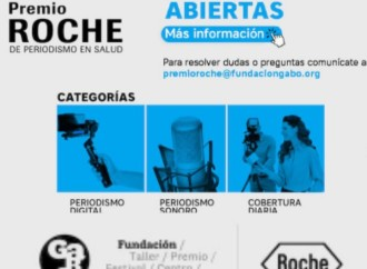 Extienden plazo para postular al Premio Roche de Periodismo en Salud hasta el 31 de mayo