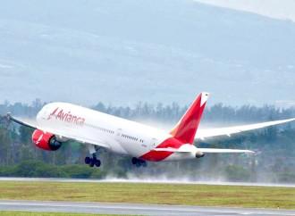 Avianca reanudará su operación internacional desde El Salvador el próximo 19 de septiembre