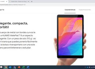 ¿Necesitas una tablet para pasar horas leyendo y además para ver tus series favoritas? La HUAWEI MatePad T8 es la opción