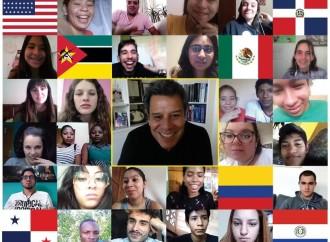 """Manes a los jóvenes reunidos en el Ciberencuentro Mundial: """"Scholas fomenta la resiliencia»"""