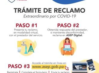 ASEP ha atendido a más de 8 mil usuarios durante la pandemia del Covid-19