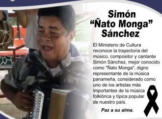 MiCultura reconoce herencia musical de Ñato Monga