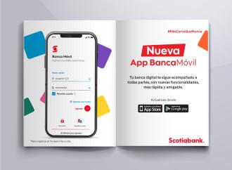 App Banca Móvil Scotiabank presenta novedades