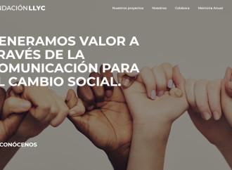 Fundación LLYC lanza su nueva web y presenta su memoria anual