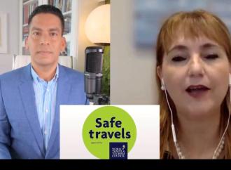 Presidenta del Consejo Mundial de Turismo, en diálogo con Cala: «35 destinos adoptan protocolos para viajar de forma segura»