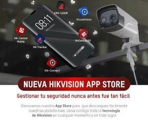 Hikvision lanza su nueva App Store en América Latina y Europa