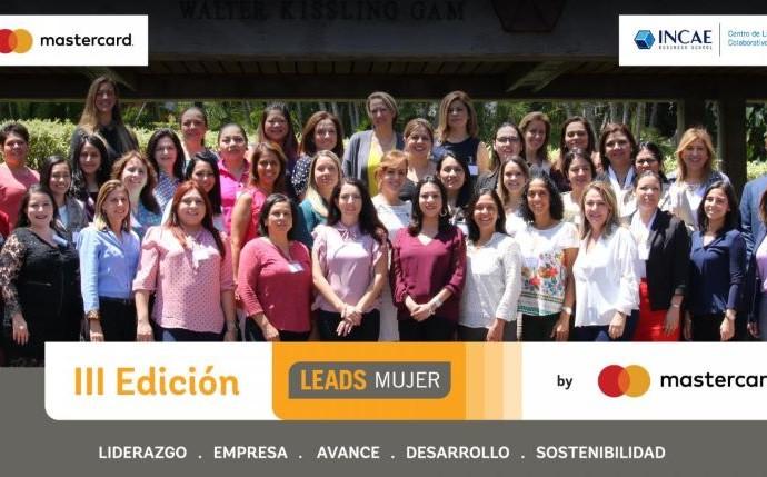 Tercera edición de LEADS Mujer by Mastercard e INCAE, abre periodo de postulación