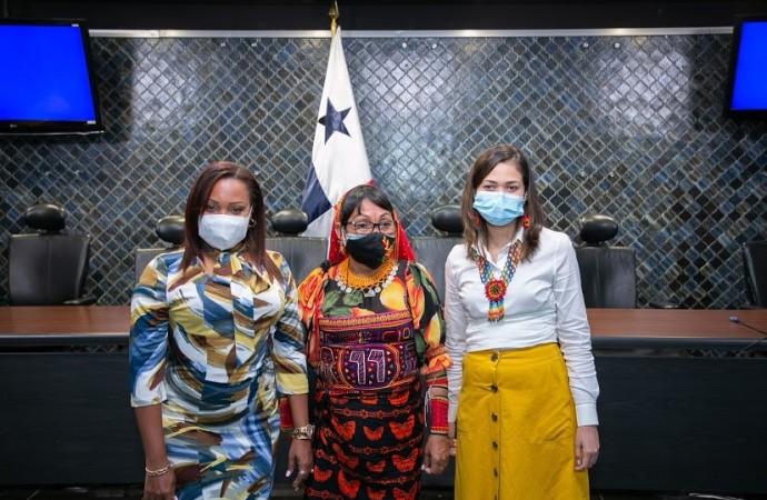 Janaina Tewaney Mencomo reafirma el apoyo a los pueblos indígenas