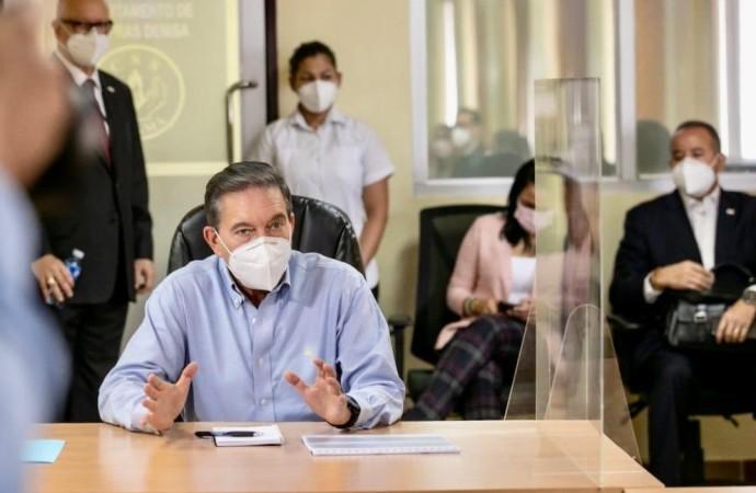 """Presidente Cortizo pide a la población """"no bajar la guardia"""" ante incremento de casos de coronavirus"""