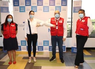 Nestlé se une a la Cruz Roja Panameña en sus esfuerzos por atender la emergencia sanitaria del país