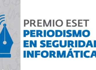 Extienden inscripción al PREMIO ESET al Periodismo en Seguridad Informática hasta el Domingo 30 de Agosto