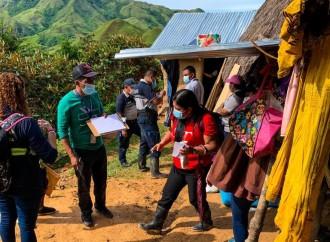 MIDES y SENNIAF brindan protección a menores de la comunidad de Llano Amador en la Comarca Ngäbe-Buglé