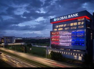Standard & Poors reafirma calificación de riesgo de Global Bank Corporation: Grado de inversión internacional BBB- con perspectiva estable