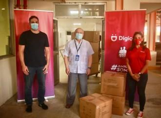 Digicel dona más de 378 mil insumos médicos para los héroes de la salud