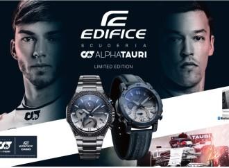 Casio lanza sus modelos de colaboración de EDIFICE con la Scuderia AlphaTauri