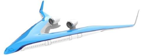 KLM y la Universidad Tecnológica de Delft presentan el primer vuelo del Flying-V