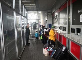 Servicio Nacional de Migraciónatendió la salida del país de 239 nicaragüenses