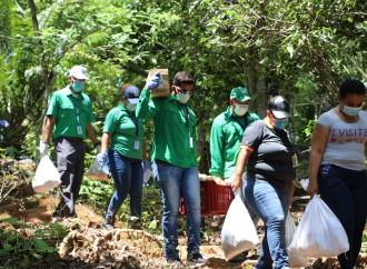 Plan Panamá Solidario llega a montañas, costas e islas de Veraguas