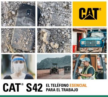 Cat® Phones lanza el Cat® S42 el celular pensado para la nueva normalidad