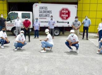 Tambor, S.A. apoya el Movimiento Todo Panamá con la entrega de kits de salud y alimentos a afectados por COVID-19