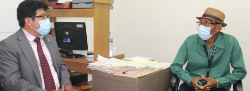 Gobernador Alexis Alvarado inicia su gestión con visita al Congreso General Guna