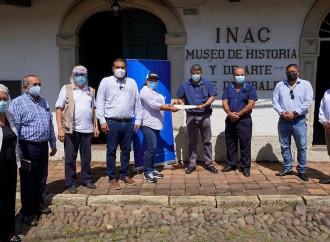 MiCultura entrega orden de proceder para asegurar estructuras del Museo José de Obaldía