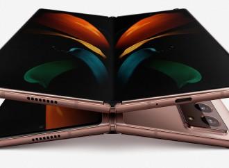La historia detrás del diseño multifacético del Galaxy Z Fold2