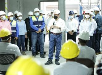 Presidente Cortizo: la construcción señalará el camino para la reapertura de otras actividades económicas en el país