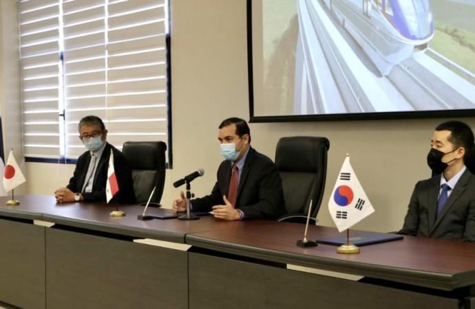 Firman contrato para el diseño y construcción de la Línea 3 del Metro de Panamá