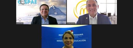 Arcos Dorados y CoSPAE sellan acuerdo para capacitar y orientar a 5 mil jóvenes con la plataforma Pasaporte para el Éxito Explorer