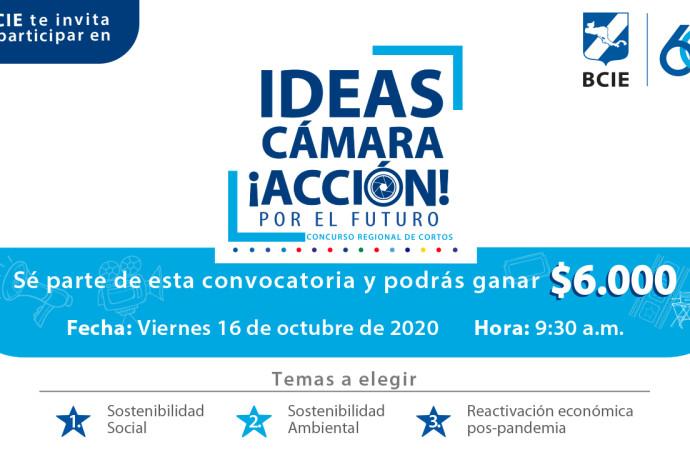 """""""Ideas Cámara Acción, por el futuro"""", un concurso regional de cortos del BCIE"""