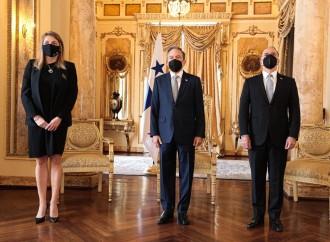 Embajadores de Barbados, Kosovo, Portugal, Francia y Alemania presentan credenciales ante el Presidente Cortizo Cohen