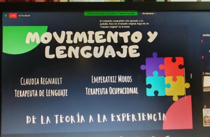 """Fonoaudiólogos del IPHE realizan conferencia sobre la """"Importancia del Movimiento en el Desarrollo del Lenguaje"""""""