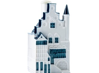 KLM presenta su nueva casa miniatura en cerámica de Delft