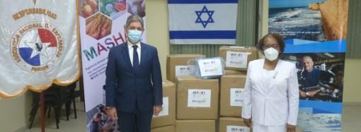 Enfermeras reciben donación de insumos médicos por parte de la Embajada de Israel