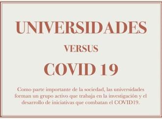 Las universidades versus el COVID-19