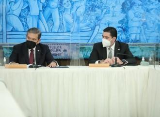 Presidente Cortizo Cohen se reúne con las Juntas Directivas de los Órganos Legislativo y Judicial
