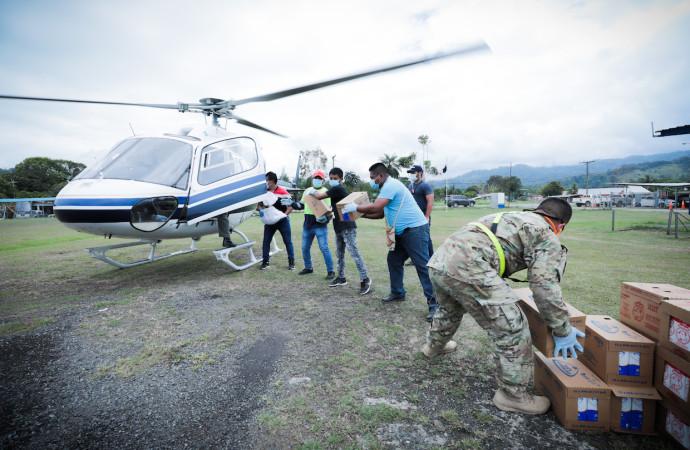 Todo un reto llevar el Plan Panamá Solidario a la comarca Ngäbe-Buglé