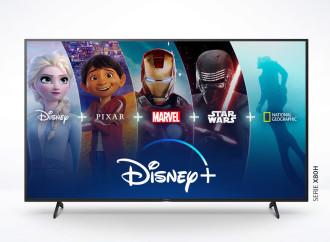 Disney+ estará disponible en los televisores Sony con Android TV
