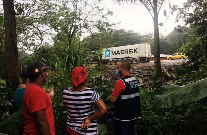 Defensoría del Pueblo atiende llamado de habitantes de Gatuncillo por alerta ambiental