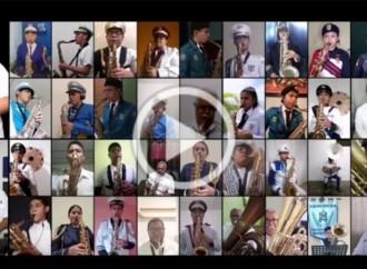 Mes de la Patria inicia con interpretación virtual de la pieza musical Bandera Panameña