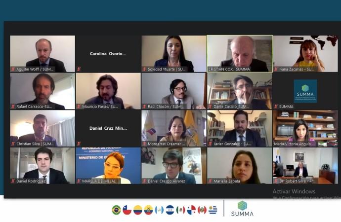 Panamá participó del Encuentro Anual del Consejo Asesor de Política Educativa de SUMMA junto a ministros y autoridades de Educación de América Latina
